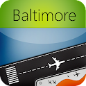 Baltimore Airport+Flight Track icon