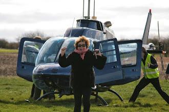 Photo: Yea! Pippa loved her flight