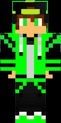 a minha skin de minecraft