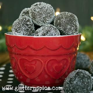 Reindeer Poop Cookies.