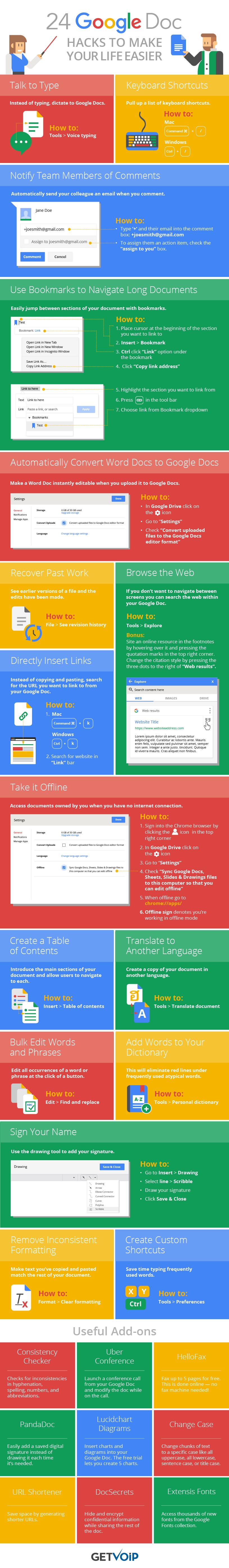 24 trucos que puedes utilizar en Google Docs para hacer tu vida más fácil... y productiva