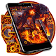 Download Cool fire wolf theme For PC Windows and Mac