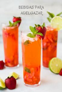Bebidas para adelgazar - náhled