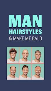 Muži Účes - Plešatý Vlasy - náhled
