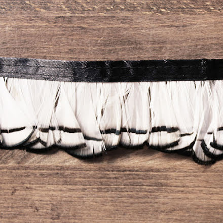 Fjäderband - fasan 5cm