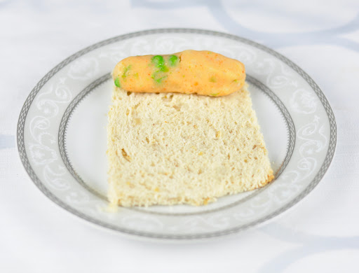 stuffed bread with potato