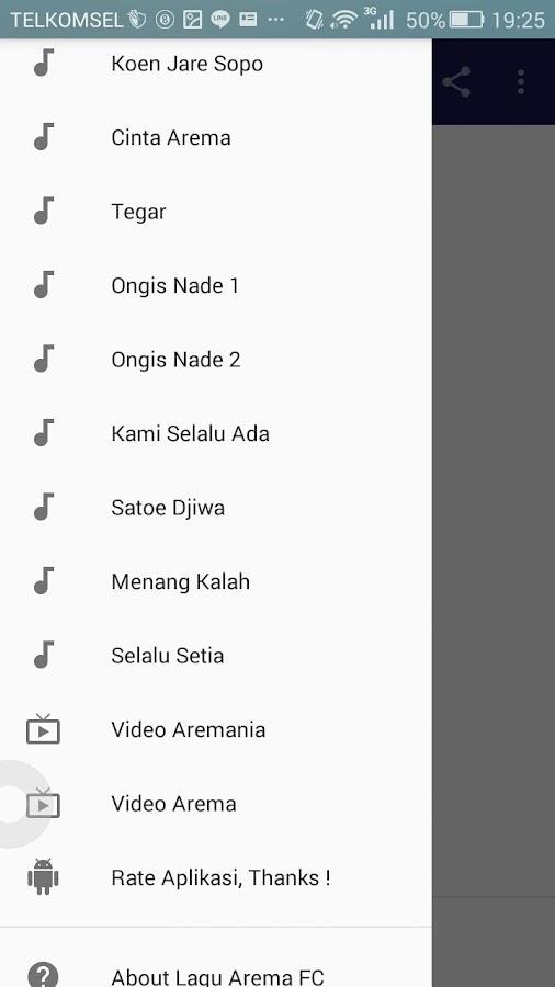 Lagu Arema FC - تطبيقات Android على Google Play