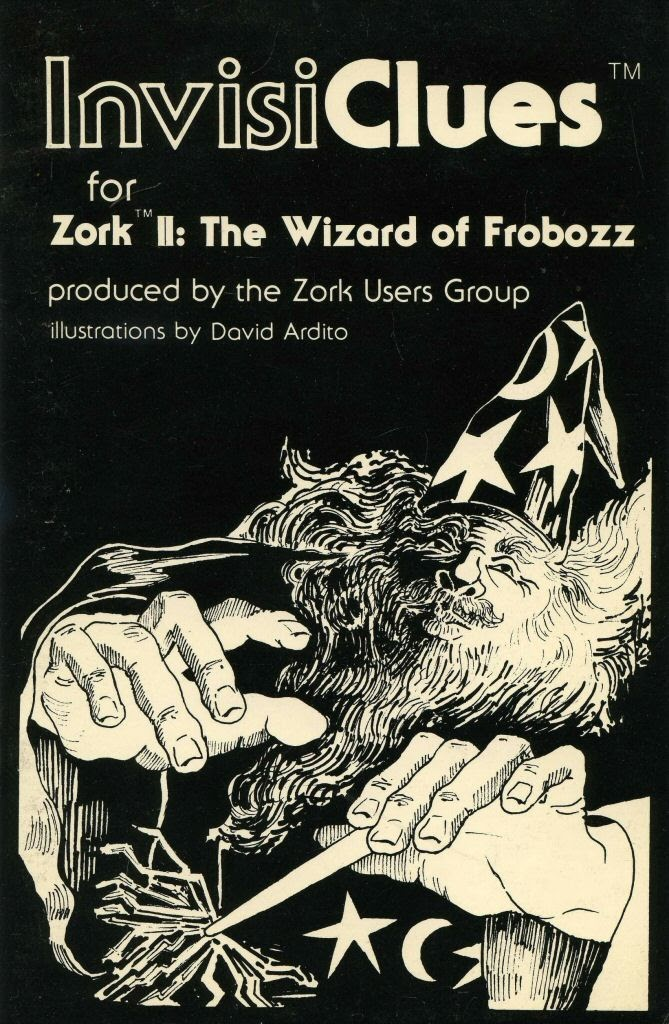 Video game instruction book:InvisiClues for Zork II: The