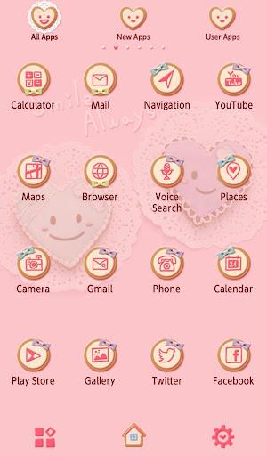 Cute Theme-Heart Cookies- 1.0.0 Windows u7528 3