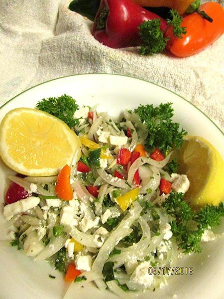 Walla Walla Onion And Feta Salad Recipe