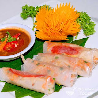 Beef and Jicama Vietnamese Spring Rolls (Bo Bia)