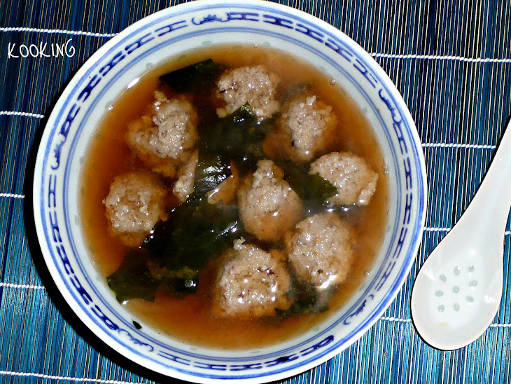 Miso Soup With Squid Dumplings