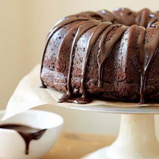 Chocolate Sour Cream Bundt Cake.