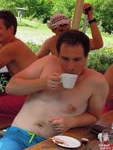 Photo: pan advokát s kávičkou