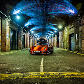 Tuscan 3 by Adrian Wilson - Buildings & Architecture Other Interior ( car, orange, lancashire, british, sports car, super car, tvr, blackpool, tuscan, fast car )