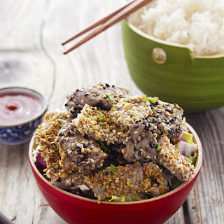 Vietnamese Pan-Grilled Sesame Beef