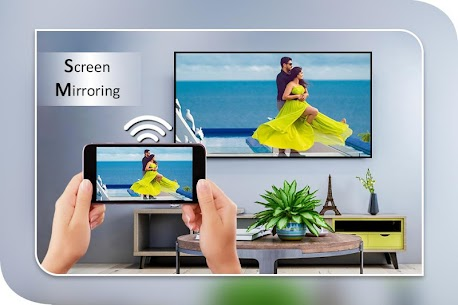 Screen Mirroring with TV : Mobile Screen to TV App Latest Version  Download For Android 1