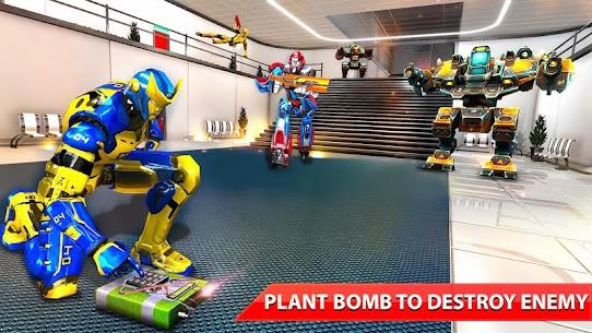 Counter Terrorist Robot Shooting Game: fps shooter 4