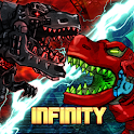 DinoRobot Infinity : Free Dinosaur Battle Game icon
