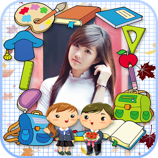 學校相框 攝影 LOGO-玩APPs