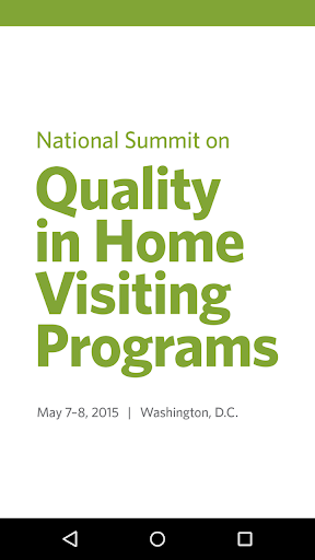 2015 Home Visiting Summit