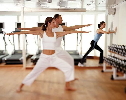 Seadream-tai-two.jpg - SeaDream cruises features daily yoga and tai chi in the Fitness Center.