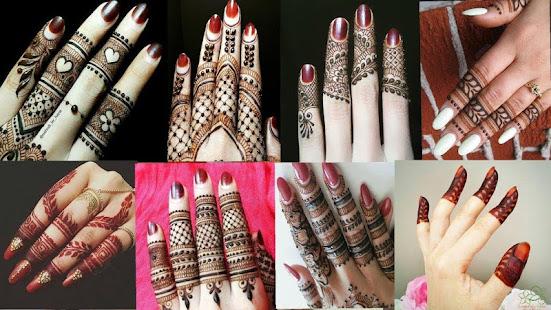 Fingers Mehndi Pics : Stylish and fancy fingers mehndi designs app report on