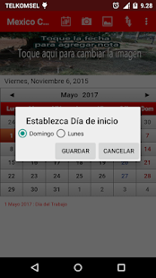 Mexico Calendario 2016- screenshot thumbnail