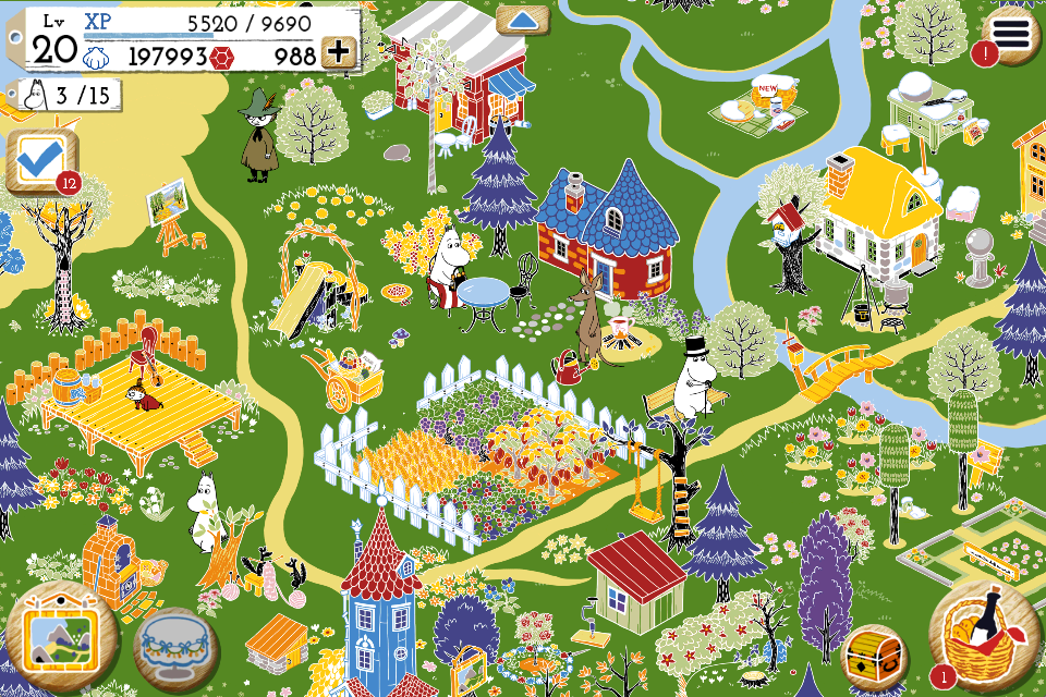 MOOMIN Welcome to Moominvalley- screenshot