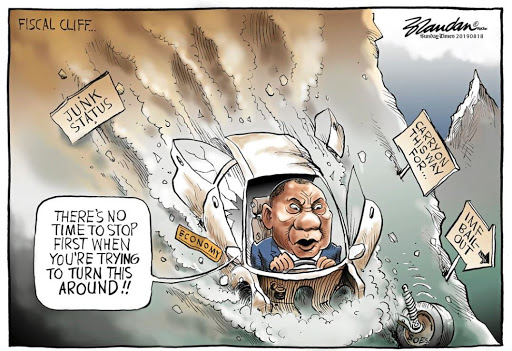 CARTOON | Cyril Ramaphosa's struggling to steer SA's economy away from an IMF bailout