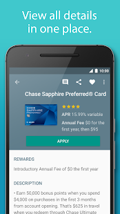 Compare Credit Cards by Silver- screenshot thumbnail
