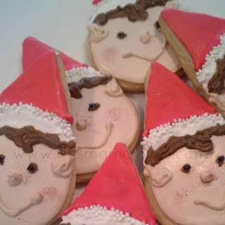 Elf on the Shelf Lemon Snap Sugar Cookies