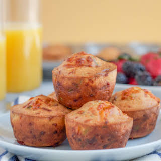 Cheddar Cheese and Chive Muffins.