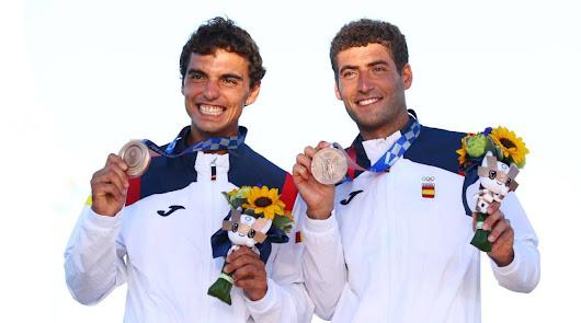 Nueva medalla de bronce en vela