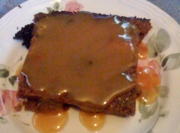 Chocolate Bread Pudding With Caramel Sauce Recipe