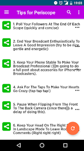 Tips for Periscope- screenshot thumbnail