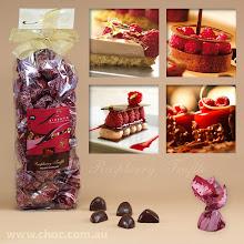 Photo: raspberry Truffle www.choc.com.au