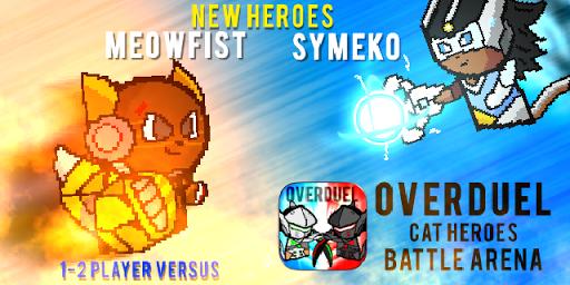 OVERDUEL : Cat Heroes Arena - Watch Over Duel game  screenshots 3