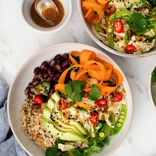 Brown Rice and Adzuki Bean Bowls from Healthy-ish.