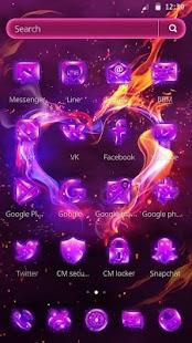 Magic Fire Mobile Theme - náhled