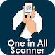 One In All Scanner: QR, Bar Code & Document Scan