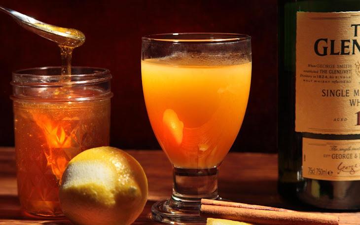 Smoky, Hot, Scotch Apple Cider Recipe