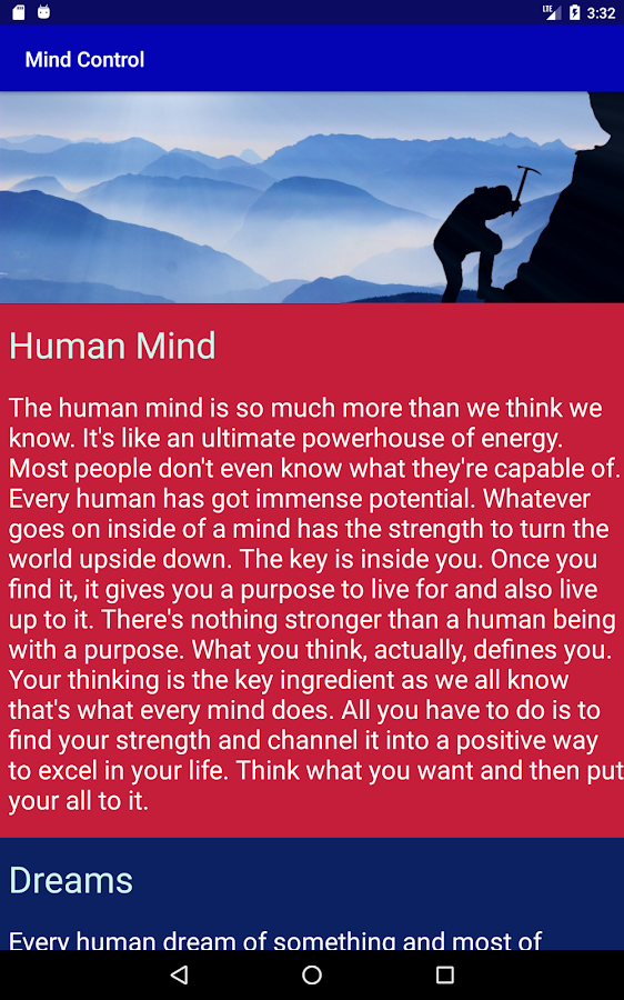 Mind Power - Motivation & Law of Attraction- screenshot