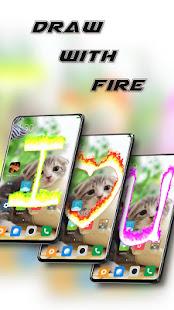 Fire electric screen prank 2