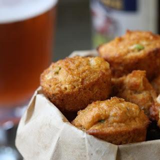 Spicy Cheddar 'Cornbread' Muffins