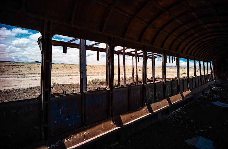 treno, Uyuni Bolivia di francesco|gallorini