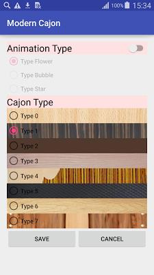 Modern Cajon - screenshot