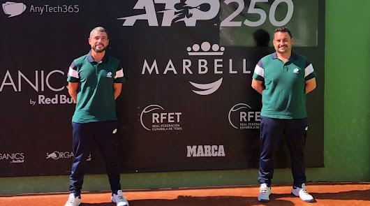 Dos árbitros almerienses en el ATP AnyTech 365 Andalucía Open