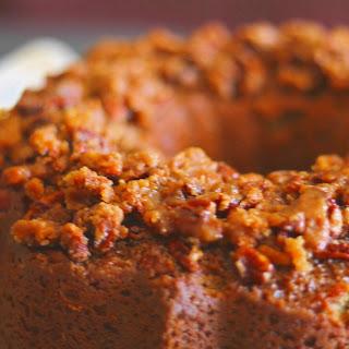 Ty's Sweet Potato Praline Sour Cream Pound Cake.