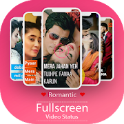 Full Screen Video Status -Romantic Lyrical Videos